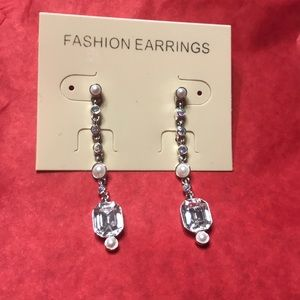 💕 Fashion Earrings with Pearls and Crystals 💕